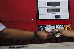 Salah satu SPBU di Jakarta Pusat. (Albert Bachtiar/EWINDO